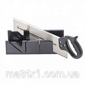Стусло, 300 х 100 мм, пластмассовое + пила, 400 мм// MTX