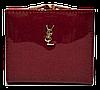 Женский лаковый кошелек BАLISА темно красного цвета из кожзама WLP-069846