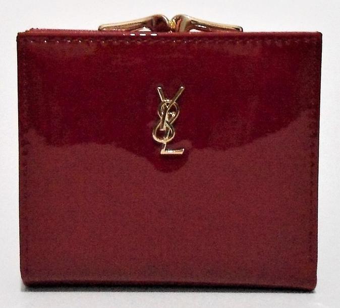 Женский лаковый кошелек BАLISА темно красного цвета из кожзама WLP-069846, фото 1