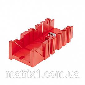 Стусло, 300 х 90 мм, пластмассовое, 4 угла для запила// MTX