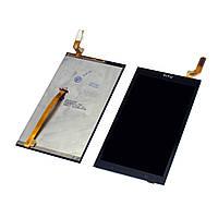 Дисплей (экран) для HTC Desire 700 + тачскрин, цвет черный