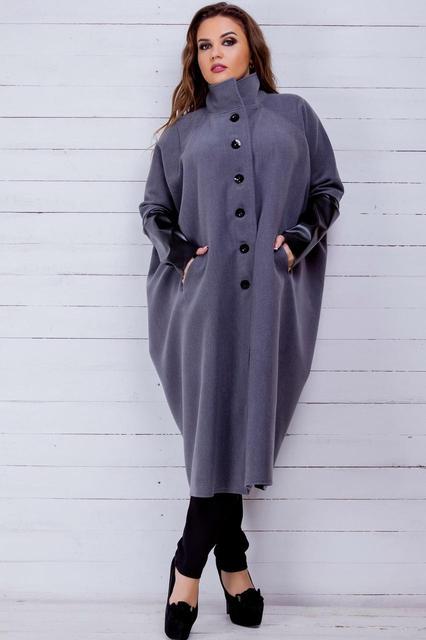 Пальто больших размеров для женщин