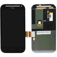 Дисплей HTC Desire SV T326e с тачскрином в сборе, цвет черный