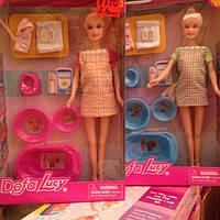 Кукла барби беременная с аксессуарами 8350