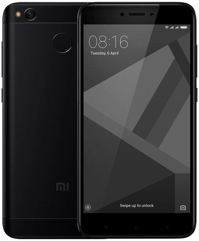 "Смартфон Xiaomi Redmi 4x Black 3/32Gb, 8 ядер, 13/5Мп, 5"" IPS, 2 SIM, 4G, 4100мА, 12 мес."