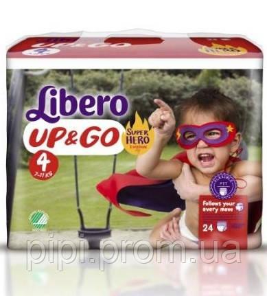 d149c5708e5e Libero Трусики Up Go 4 Maxi (7-11 кг) 24шт. (Hero)  продажа, цена в ...