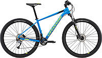 "Велосипед 29"" Cannondale Trail 6 рама - X SPB синий с салатовым 2018"