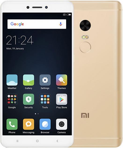 "Смартфон Xiaomi Redmi Note 4 Gold 4/64Gb, Snapdragon 625, 8 ядер, 13/5Мп, 5.5"", 2Sim, 4100мА, фото 1"