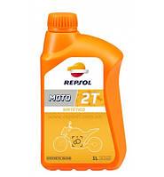 Масло моторное 2Т Repsol MOTO SINTETICO 2T, 1л (RP150W51)
