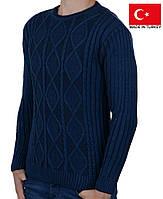 Мягкий шерстяной свитер на мальчика-подростка.