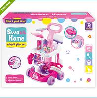 Набор для уборки с пылесосом детский игровой набор Sweet Home A5938