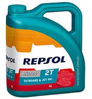 Моторное масло для гидроциклов Repsol NAUTICO  Outboard & Jet Ski 2T, 4л (RP129Y54)