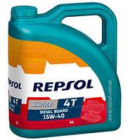 Моторное масло Repsol NAUTICO Diesel Board 4T 15W40, 4л (RP131Y54)