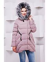 Женское зимняя куртка с натуральным мехом в 10ти цветах ML-089п