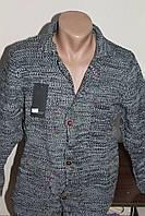 Мужской вязаный пиджак LeoMessi (кардиган)