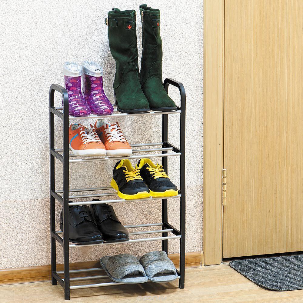 Подставка для обуви на 5 полок 417x190x700 мм полочка