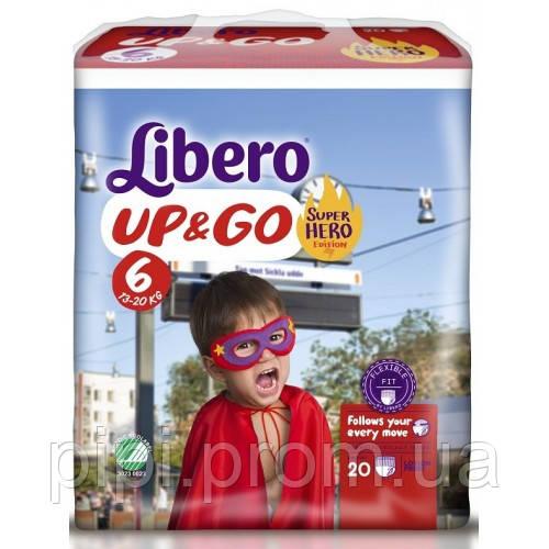 81691b925a39 Libero Трусики Up Go 6 XL (13-20 Кг) 20 Шт (Hero) — в Категории ...