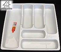 Лоток-вкладыш для столовых приборов Senyayla С001 белый