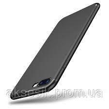 Силиконовый чехол Black Matt Limited (TPU) для iPhone 7 Plus