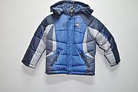 Куртка для мальчика болоньевая наполнитель синтепон рост 92-116 6074