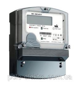 Счетчик НІК 2303 АК1Т 1100 5-10А 3ф электронный многотарифный, фото 1