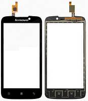 Тачскрин (сенсор) для Lenovo A516 леново, цвет черный