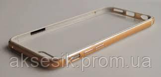 Бампер voque Metal + пластик iPhone 6/6s (rose gold)