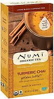 Органический чай масала с куркумой Numi