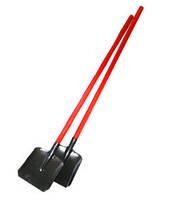 Лопата пожарная совковая, штыковая