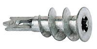 Дюбель Driva для гипсокартона 14х38 цинк-алюминий, 100 шт.