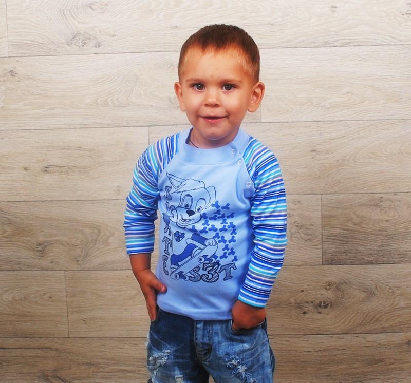 Водолазка для мальчика на кнопках( разные цвета и рисунки)