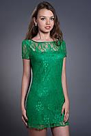 Платье женское гипюровое. Код модели Л-20-03-14.
