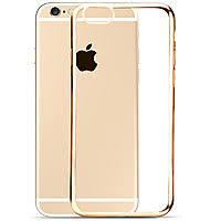 Силиконовый чехол Hoco Glint Plating Series (TPU) iPhone 6/6s (rose gold)