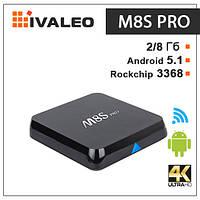 Приставка смарт тв M8S Pro