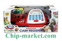 Детский кассовый аппарат сканер звук, калькулятор