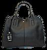 Женская сумочка из искусственной кожи черного цвета VNM-163221