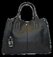 Женская сумочка из искусственной кожи черного цвета VNM-163221, фото 1