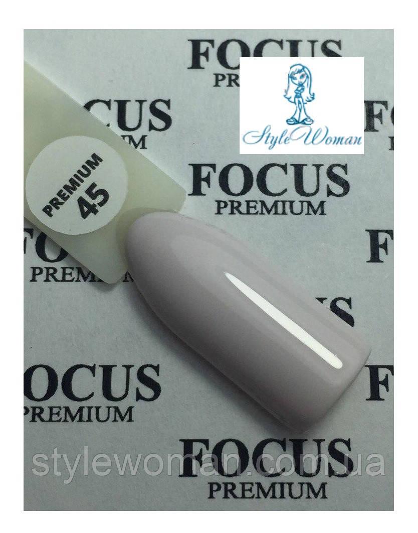 Гель лак Focus Premium від Oxxi 8мл №45