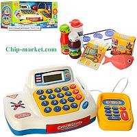 Детский Кассовый аппарат Мой магази 4 игровые функции