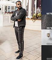 Тёплый мужской костюм, флис с начёсом. 4 цвета. р-ры: 50,52,54,56.