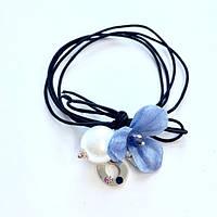 "Резинка ""Голубой цветок Chanel N°5"""