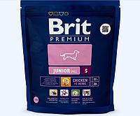 Корм для щенков мелких пород Brit Premium Junior S, 1 кг