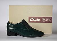 Женские туфли дерби Clarks оригинал натуральная кожа 37