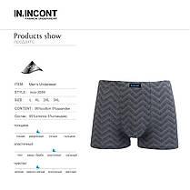 Мужские боксеры стрейчевые марка «IN.INCONT»  Арт.3589, фото 3