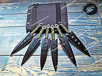 Набор метательных ножей PC040 Кунаи 6в1