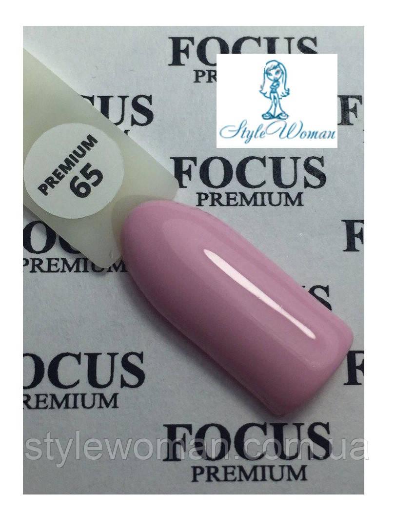 Гель лак Focus Premium от Oxxi 8мл №65