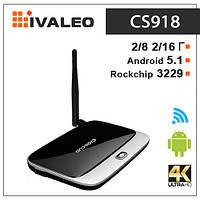 Смарт ТВ приставка CS918 (MK888) Q7 Android 5.1