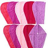 Рушник тюрбан для волосся, фото 2