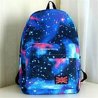 Рюкзак Космос. Женский рюкзак. Портфель вселенная. Сумка Галактика. СР31