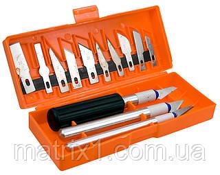 Набор резцов по дереву, пластмассовые ручки, 13 шт.// SPARTA